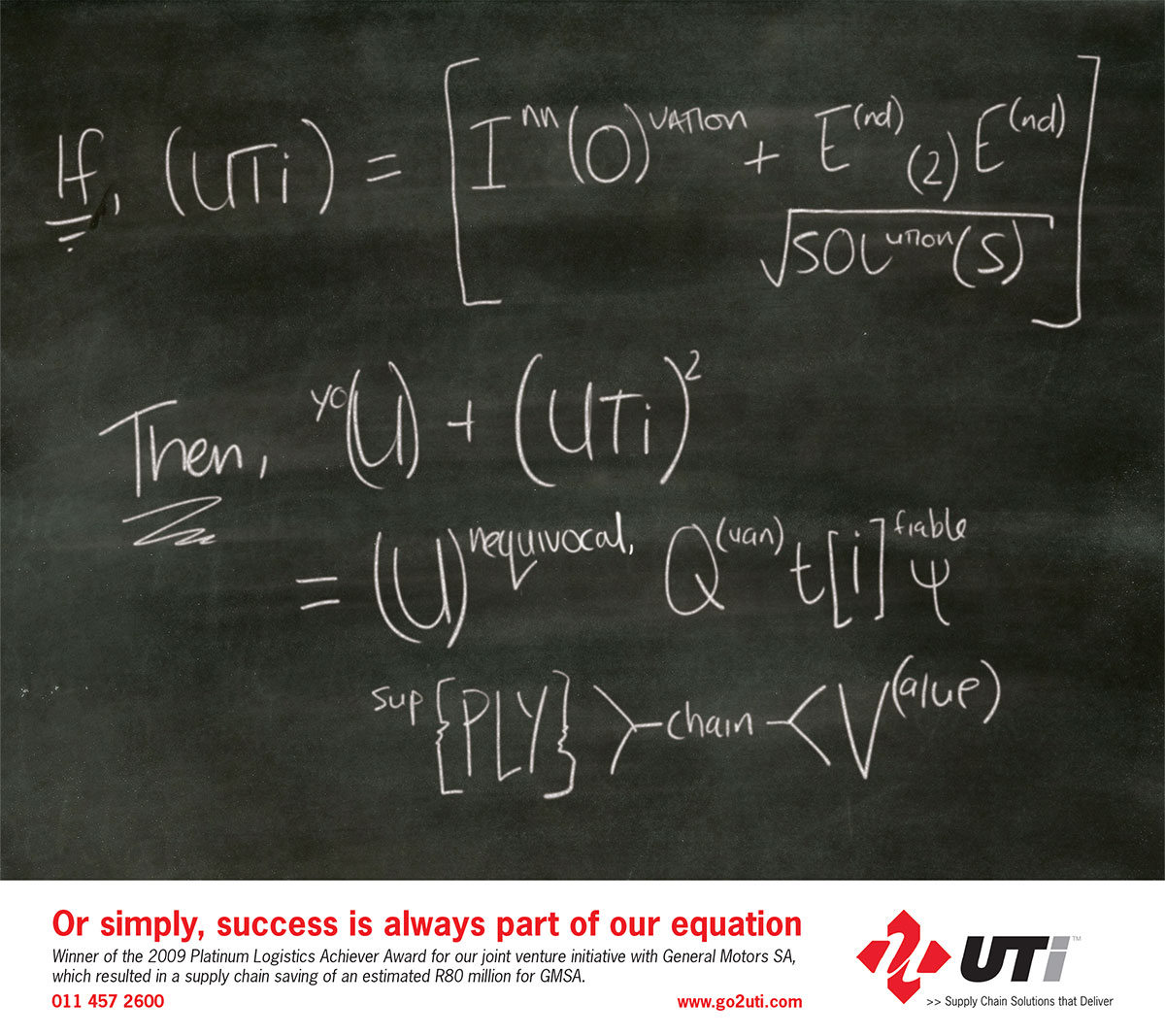 UTI Advert