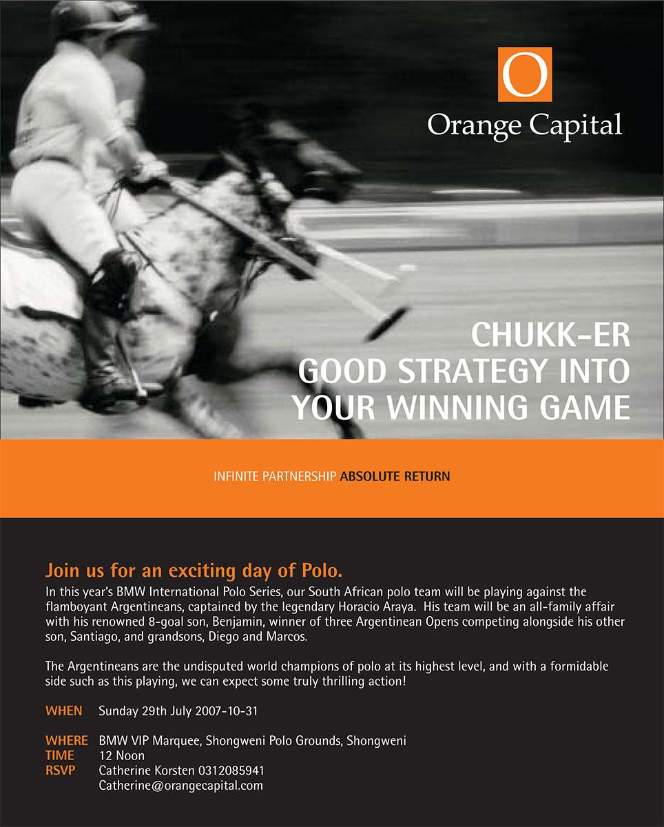 Orange Capital Invite